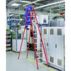 Zarges - EFAmix B Két oldalon járható lépcsős üvegszál-alumínium szerkezetű állólétra 2x4 fokos - 41165