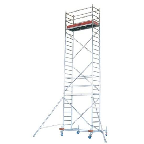 Krause - Stabilo Gurulóállvány 10-es sorozat 6,4m (2,5x0,75m) - 741332