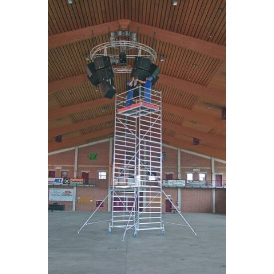 Krause - Stabilo Gurulóállvány 50-es sorozat 11,4m (2,5x1,5m) - 745286