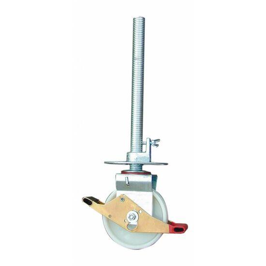 Krause - Stabilo gurulóállványokhoz kerék Ø 200 mm, állítható magasságú (1 db) - 704108