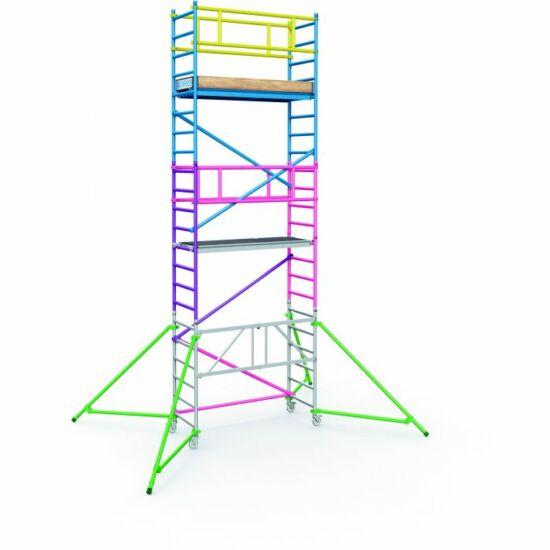Zarges - PaxTower 1T 1 m-es kiegészítő csomag (rózsaszín) - 53553