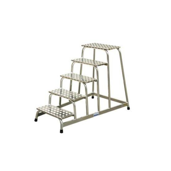 Krause - Fix szerelődobogó alumíniumból 5 fokos - 805058