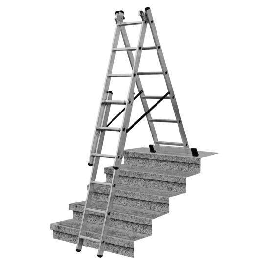 Krause - Corda sokcélú létra lépcsőfunkcióval 3x6 fokos - 033369