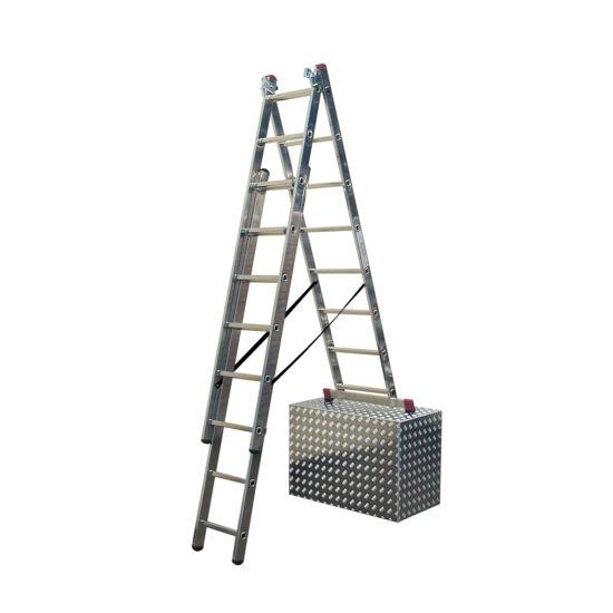Krause - Corda sokcélú létra lépcsőfunkcióval 3x9 fokos - 033390