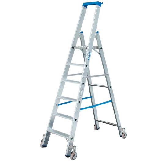 Krause - Stabilo gurítható lépcsőfokos állólétra 5 fokos (profi) - 124623