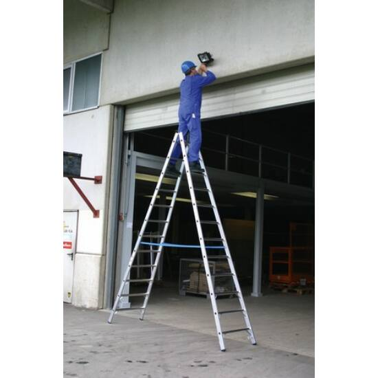 Krause - Stabilo két oldalon járható biztonsági létra 2x16 fokos (profi) - 801746