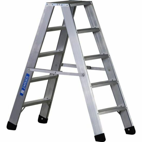 Zarges - Seventec B két oldalon járható lépcsős állólétra 2x5 fokos - 40355