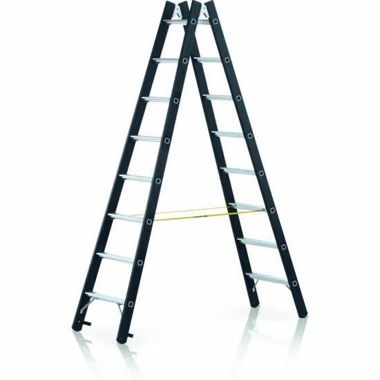 Zarges - Megastep B nagy teherbírású két oldalon járható lépcsős állólétra 2x8 fokos - 41192