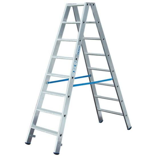 Krause - Stabilo két oldalon járható lépcsőfokos létra 2x8 fokos (profi) - 124760
