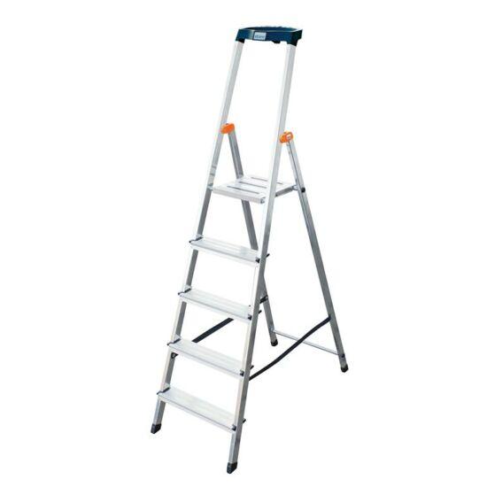 Krause - Monto Safety lépcsőfokos állólétra 5 fokos (félprofi) - 126337