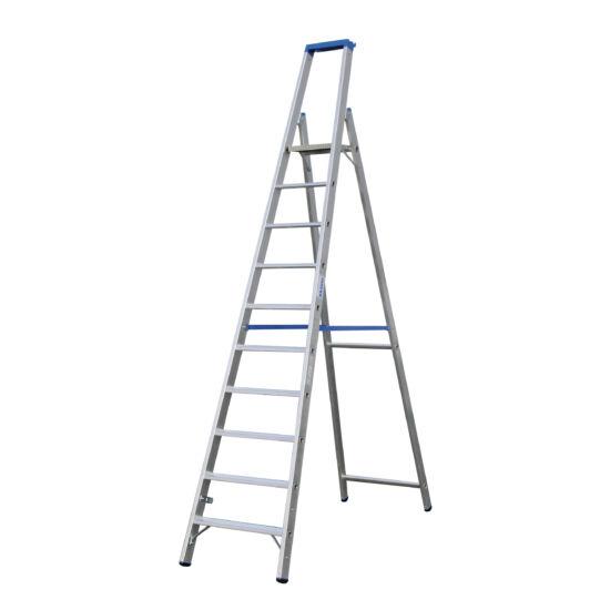 Krause - Stabilo Lépcsőfokos állólétra 10 fokos (profi) - 124562
