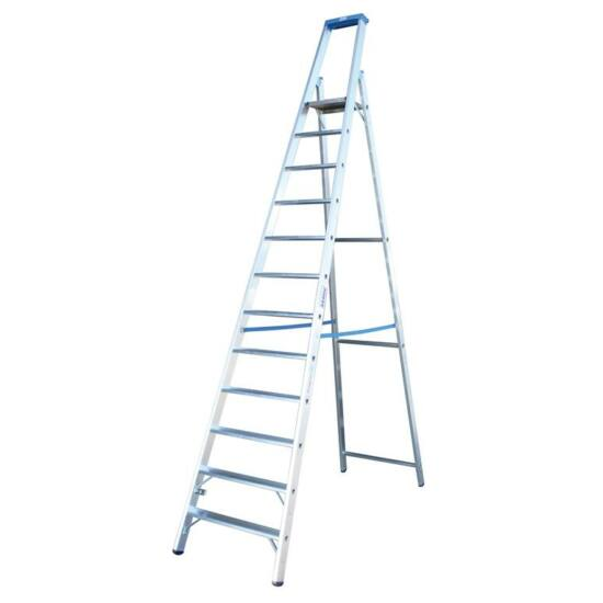 Krause - Stabilo Lépcsőfokos állólétra 12 fokos (profi) - 124579