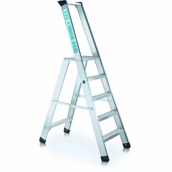 Zarges - Seventec RC S egy oldalon járható lépcsős állólétra 5 fokos - 40495