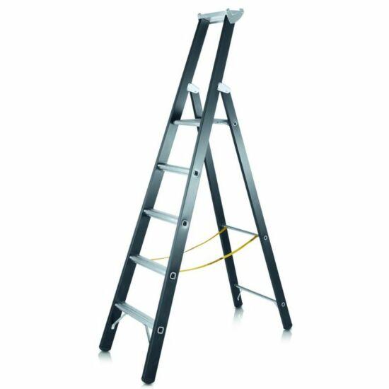 Zarges - Megastep S nagy teherbírású egy oldalon járható lépcsős állólétra 6 fokos - 41148