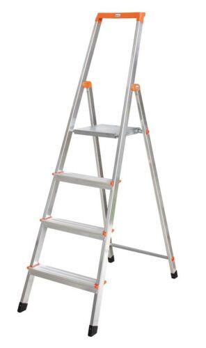 Krause - Monto Solidy lépcsőfokos állólétra 4 fokos (félprofi) - 126221